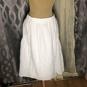 Mossimo Linen Skirt Small